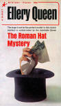 The Roman Hat Mystery - kaft Signet Pocket #77, October 1941 8th Printing