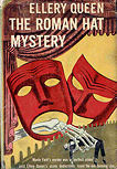 The Roman Hat Mystery - kaft Triangle Books