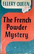 The French Powder Mystery - cover Large Print edition