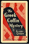 The Greek Coffin Mystery - cover F.A. Stokes Co., NY, 1932