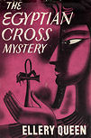 The Egyptian Cross Mystery - cover edition Triangle 1940