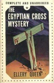 The Egyptian Cross Mystery - cover Readers League of America