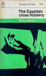 The Egyptian Cross Mystery - cover Penguin Books Nr 1842. Priced 3/6, 1962