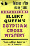 The Egyptian Cross Mystery - dustcover Gollancz