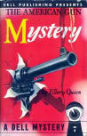 The American Gun Mystery - Dell cover N�4