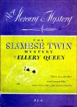 The Siamese Twin Mystery - cover Mercury Mystery nr.36
