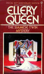 The Siamese Twin Mystery - cover Signet