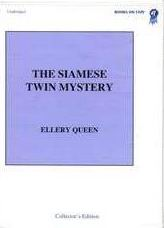 The Siamese Twin Mystery -  cover audiobook read by Michael Prichard
