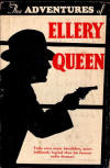 The Adventures of Ellery Queen - cover Grosset & Dunlap, 1934