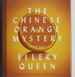 The Chinese Orange Mystery - cover audiobook Blackstone Audio, Inc., read by Richard Waterhouse, November 1. 2013