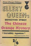 The Chinese Orange Mystery - cover edition Gollancz, London