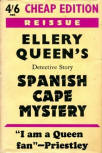 The Spanish Cape Mystery - cover Gollancz, 1949