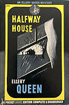 The Halfway House - Horz cover rare horizontal binding. Binding is at the top, resulting in a wider and shorter page.