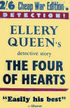 The Four of Hearts - cover Cheap War Edition, 1940
