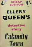 Calamity Town - cover Cheap Edition books, Third edition, 1949.