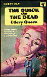 The Quick and the Dead - Pocket Books kaft Pan editions PAN G431, 1961