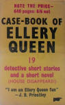 The Case-Book of Ellery Queen - Cover English edition Victor Gollancz, London,1949