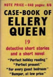 The Case-Book of Ellery Queen - Cover English edition Victor Gollancz, London,1950