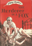 The Murderer is a Fox - kaft Little, Brown & Co., 1945