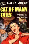 Cat of Many Tails - kaft Pocket Books Nr 822 - 1951