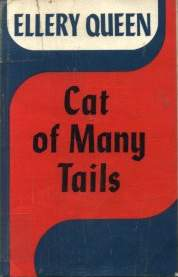 Cat of Many Tails - cover edition Great Britain, 1949