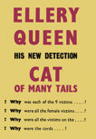 Cat of Many Tails - kaft Gollancz London 1949
