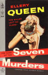 The Case of the Seven Murders - kaft, 1958 (aka)