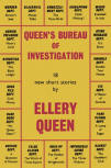 Queens Bureau of Investigation - Dustcover Gollanz, 1955