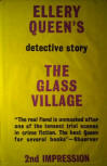 The Glass Village - cover Victor Gollancz first published August 1954, second impression august 1954