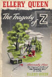 The Tragedy of Z - cover reprint Little & Brown, 1942
