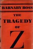 The Tragedy of Z - cover Australian edition Cassell July 1934