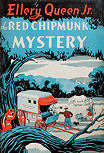The Red Chipmunk Mystery - cover J. P. Lippincott Co, 1946