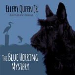 The Blue Herring Mystery -  kaft audioboek Blackstone Audio, Inc., voorgelezen door Traber Burns, 1 oktober 2015