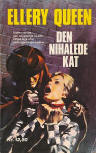 Den nihalede kat - Cover Danish edition, Lademann, 1974