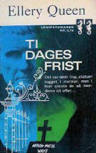 Ti dages frist - Cover Danish edition, Martins Forlag, 1952