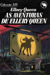 As Aventuras de Ellery Queen - cover Brasilian edition, Coleccao-XIS