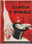 Zlocin v divadle - Cover Czech edition, 1937