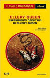 Esperimenti deduttivi di Ellery Queen - cover Italian edition/ebook Mondadori, Nov 5 2015