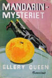 Mandarinmysteriet - cover Swedish edition, Bonniers, 1938