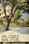 Mr Queen har otur - cover Swedish edition, Bonniers, 1943