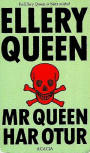 Mr Queen har otur - cover Swedish edition Acacia 1990