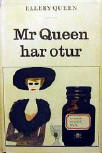 Mr Queen har otur - softcover Swedish edition Bonniers,  1964