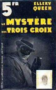 The Egyptian Cross Mystery - cover French edition, La Nouvelle Revue Critique in the collection L'empreinte Nr 40, 1934