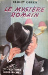 Le Mystère romain - cover French edition, Limier, 1948