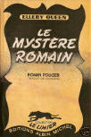 Le Mystère romain - cover French edition, Limier nr14, 1948
