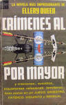 Crimenes Al Por Mayor - cover Spanish edition Nr77, Novaro, México 1967