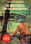 El Misterio de la Cruz Egipcia - softcover Spanish edition , Barcelona 1955, Coleccion el Buho, Nr 39 (una seleccion de Crime Club)