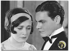 "Sally O'Neil en Eddie Quillan, ""The Sophomore"" (1929)."
