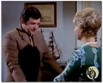 Lee Philips as George in ' Double Troubl'e (1969) an episode from The Ghost & Mrs. Muir