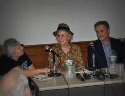 (From L to R) Janet Salter Rosenberg, Laurie Harden, Tom Roberts